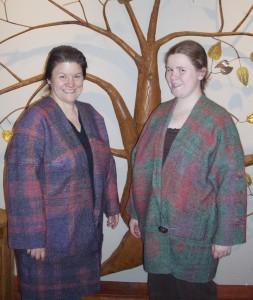 Saori Jacket and Mother Daughter Jacket
