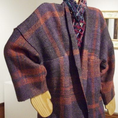 Homesteading lessons learned from A Saori Jacket Project