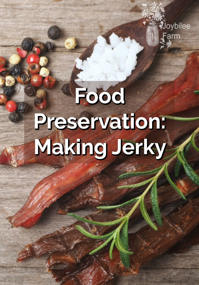 Making jerky at home