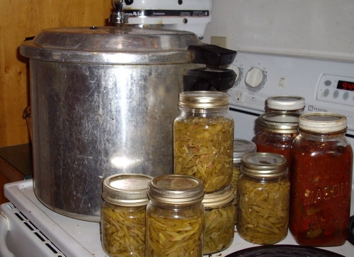 A homestead that has the means to accomplish food preservation while growing their own bounty is able to handle the ups and downs of life.