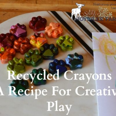 Recycled Crayons Recipe