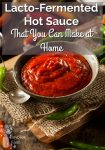 Lacto-Fermented Hot Sauce That You Can Make at Home