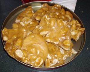 Homemade Candy - Peanut Brittle -- Joybilee Farm