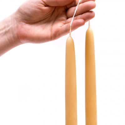 DIY Beeswax Candles – The Secret to Perfect Tapers