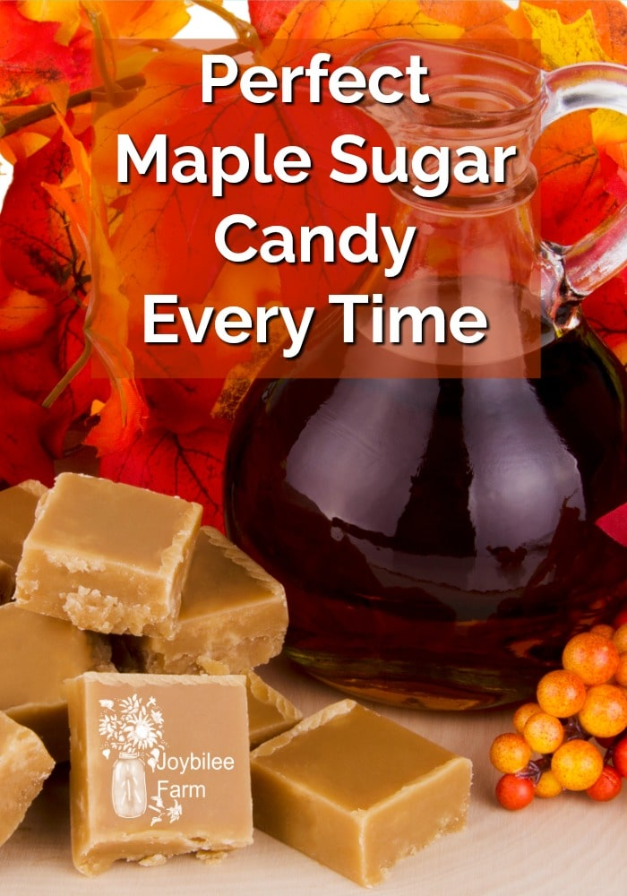 Perfect Maple Sugar Candy Every Time