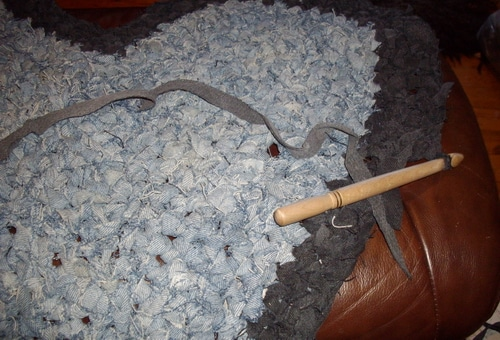 jeans crochet with big hook