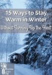 15 Ways to Stay Warm in Winter Without Turning Up the Heat