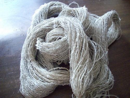 Linen Yarn scoured
