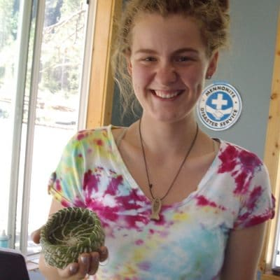 Underwater Basket weaving:  Art Therapy at Pines Bible Camp