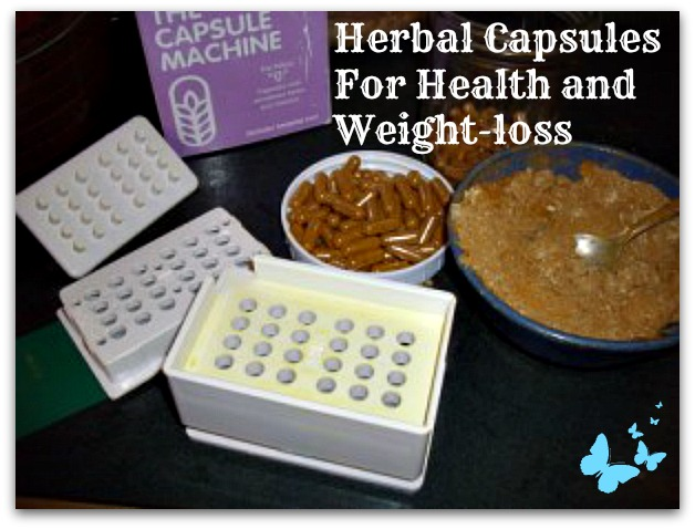 Herbs for Weight Loss and capsule machine