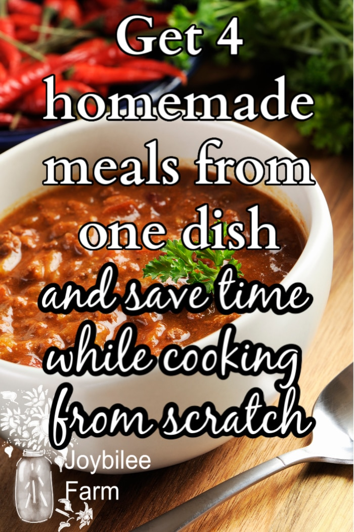 homemade meals to save time cooking from scratch