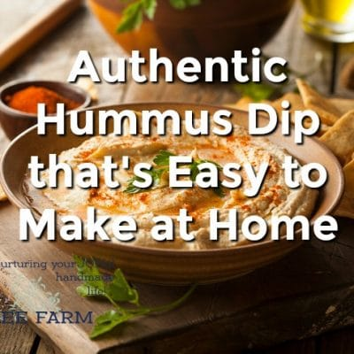 Authentic Hummus Dip that's Easy to Make at Home