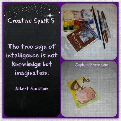 Creative Spark 9 – Illumined Letter