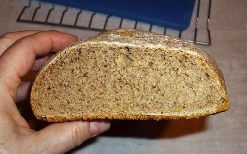 Artisan bread crumb