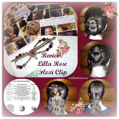 Glorious long hair beauty and the Flexi-clip meets the homestead lifestyle