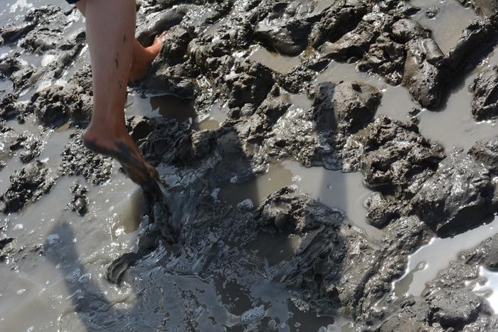 Dead Sea Mud therapy