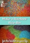 rainbow colored rice