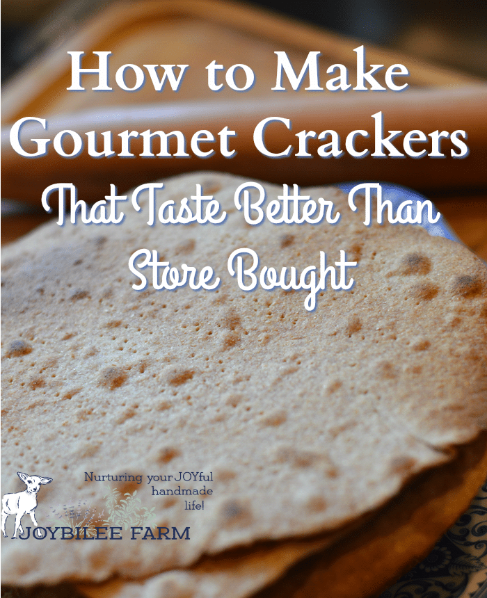 Gourmet crackers are as easy to make at home as cookies, bread, and other baked goods. If you just lacked a recipe, try my recipe for gourmet crackers and you'll never go back to store bought again.