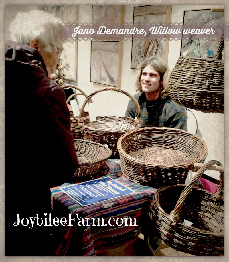 Picture of Jano the willow weaver