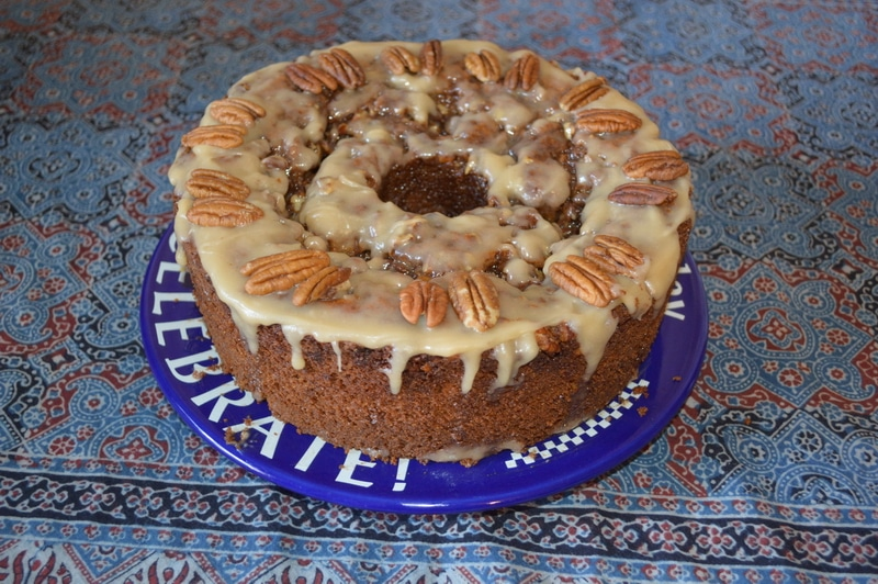 Kefer pecan coffee cake