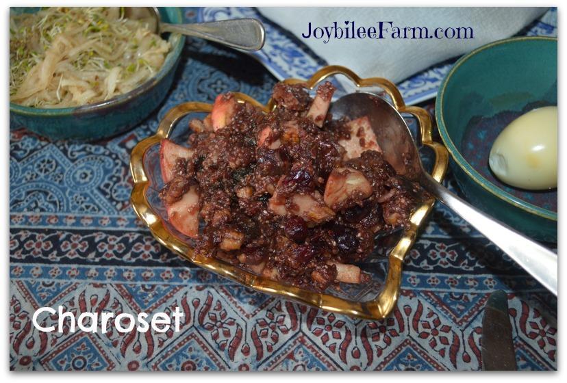 Passover charoset