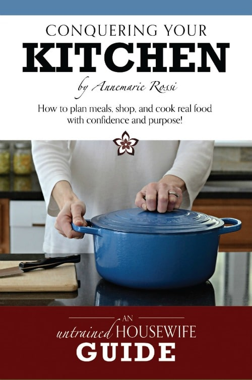 Conquering Your Kitchen book cover