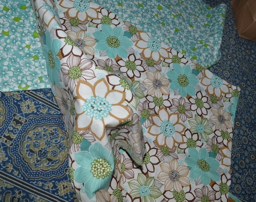 cloth gift wrap 2nd step