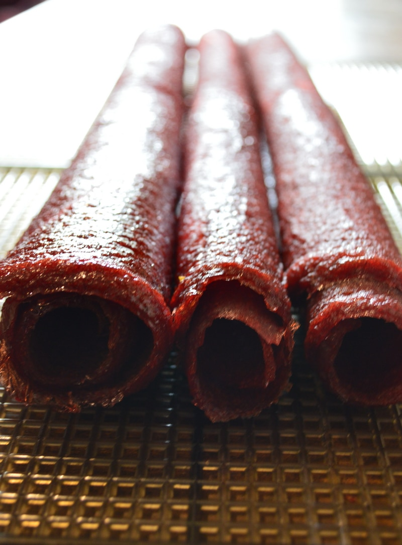 Crab apple fruit leather 3