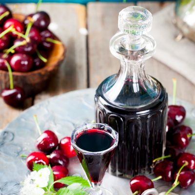 DIY Cherry Liqueur That is Perfect for Gift Giving