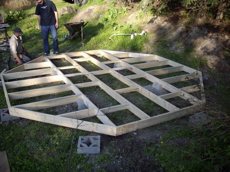 cottage foundation july 2011