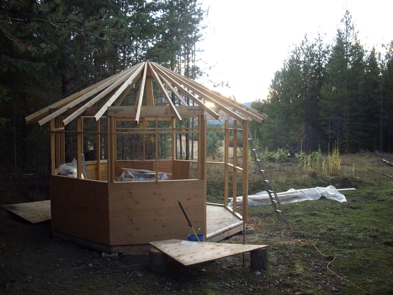 cottage going up