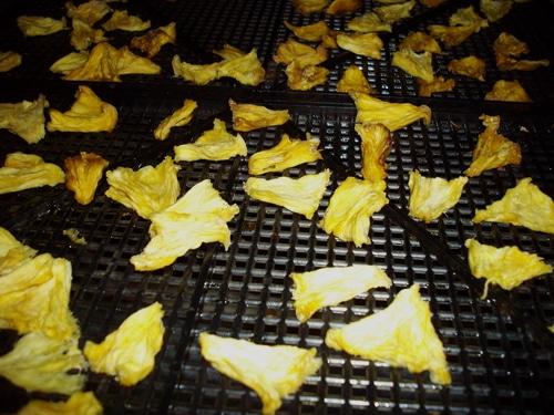 pineapple dried