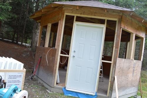writer's retreat door