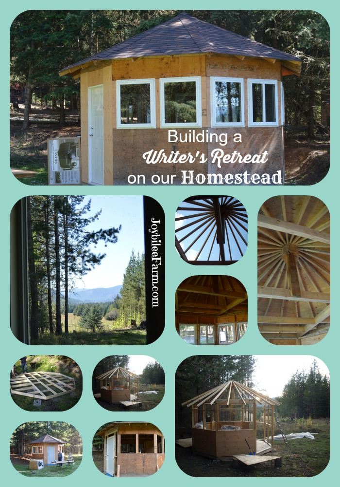 Building a Writer's Retreat on our Homestead