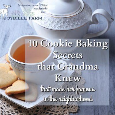 10 Cookie Baking Secrets From Grandma