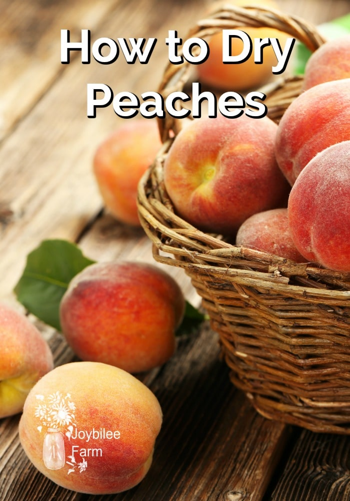Fresh peaches in a wicker basket
