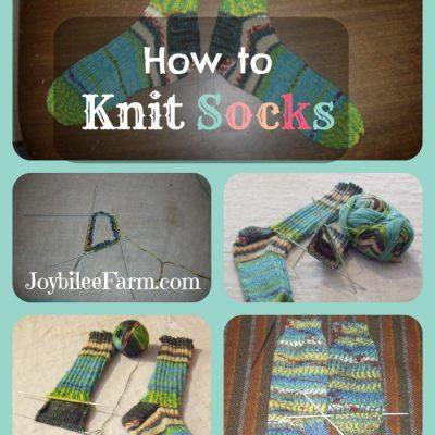 Free Sock Knitting Pattern