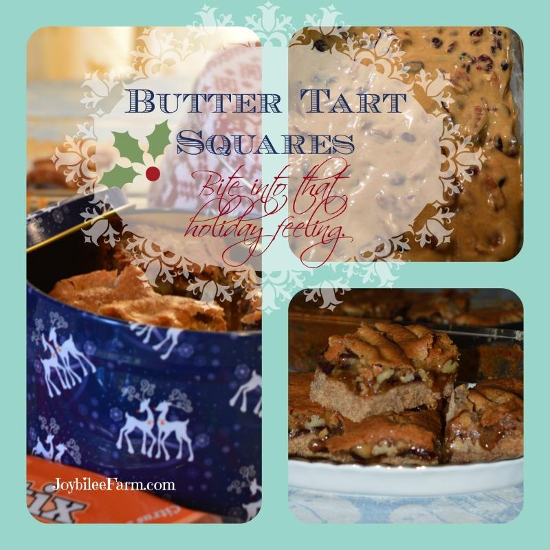 Butter Tart Square recipe - Joybilee Farm