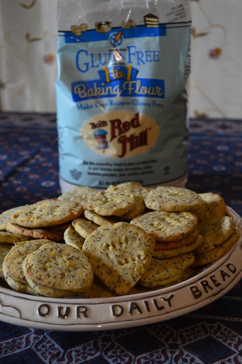 Lemon poppyseed cookies gluten free