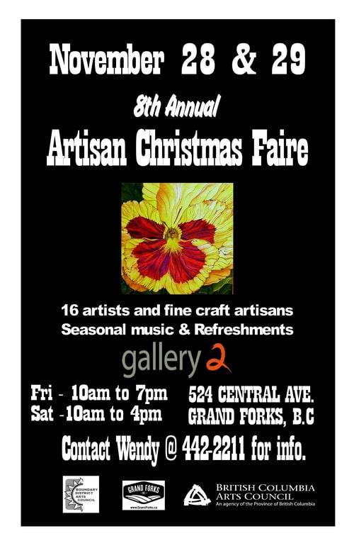 Artisan Christmas Craft Faire
