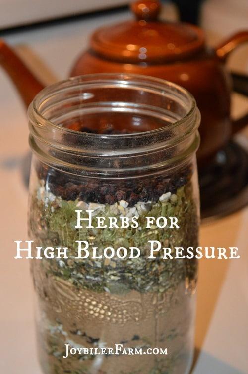 Herbs for High Blood Pressure -- Joybilee Farm