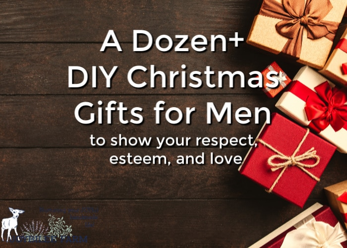 You can handcraft many DIY Christmas gifts that will show your respect, esteem, and love toward those special men in your life. Pick from over a dozen projects.