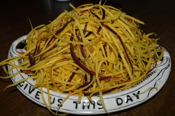vegetable noodles carrot