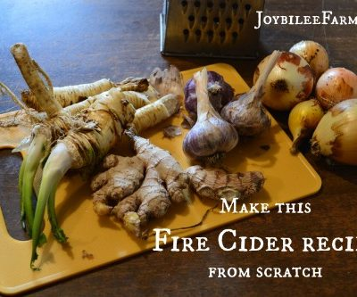 Make this Fire Cider Recipe from Scratch