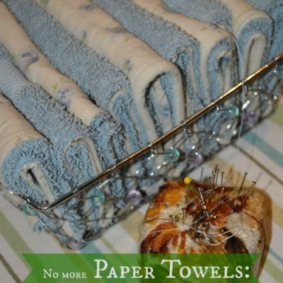 Ditch Your Paper Towels: Make Unpaper Towels for Free and $ave $100