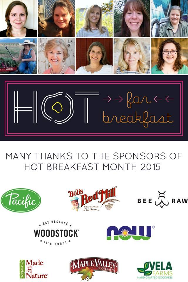 hot for breakfast sponsors and team