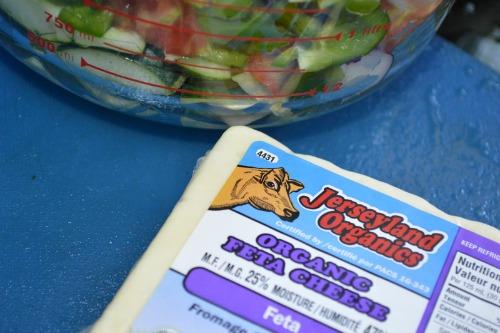 Summer Salad recipes: My favorite Greek Salad -- JoybileeFarm.com