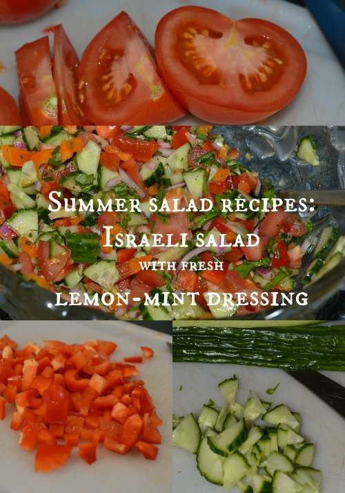 If your growing zone is too warm for lettuce right now, try this make ahead summer salad recipe instead. You might even find yourself grabbing a bowl of Israeli salad for breakfast, like I did this morning.