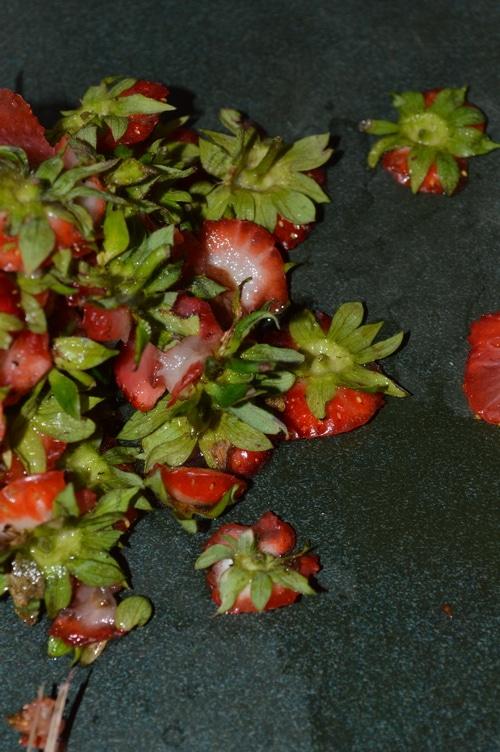 strawberry tops