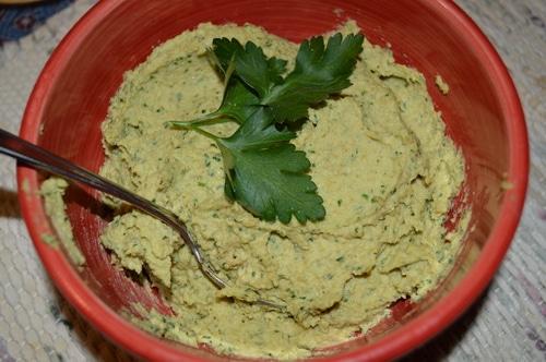 Lamburgers with Hummus and Tzatziki on Pita -- Joybilee Farm